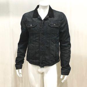 AllSaints Duane Men's Blue Denim Jacket